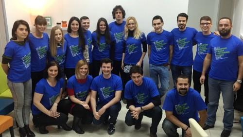 Tim tjedna testiranja - djelatnici HZJZ-a, udruge Iskorak/LGBT centar Zagreb i volonteri