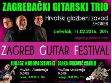 Nagrade: karte za koncert u sklopu Zagreb Guitar Festivala