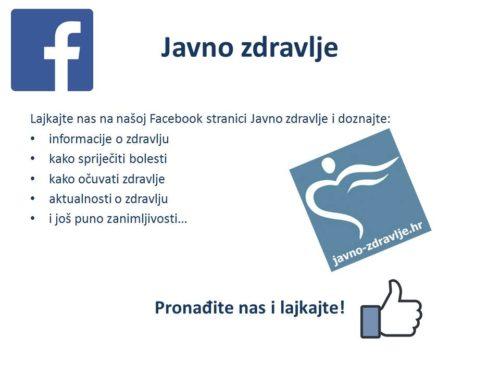 Facebook-javno zdravlje